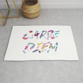 Carpe Diem Color Ink Rug