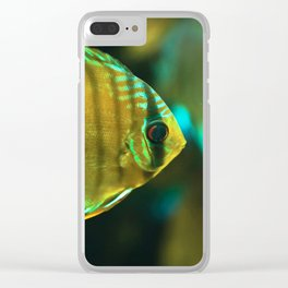 A fish Clear iPhone Case