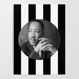 Martin Luther king art work Poster