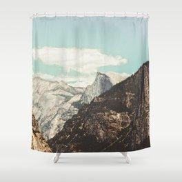 Half Dome Peek Shower Curtain