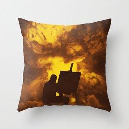 Disasterpiece Throw Pillow