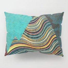 Color Peaks Pillow Sham