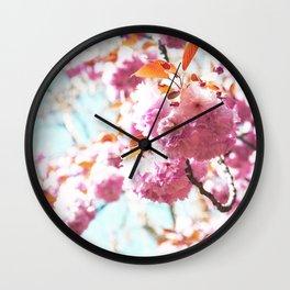 Miss Flower... Wall Clock