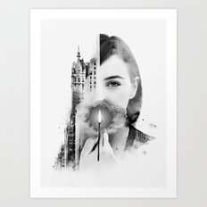 City Within Art Print