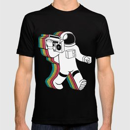 astronaut music T-shirt