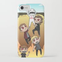 cyrilliart iPhone & iPod Cases featuring Drag Me Down To Hell by Cyrilliart