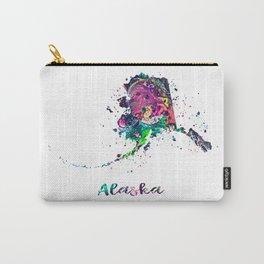 Alaska Map Carry-All Pouch