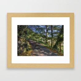 Autumn Countryside Framed Art Print