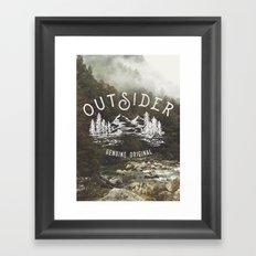 Outsider Framed Art Print