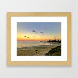 Sunset on the GC Framed Art Print