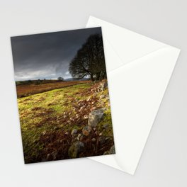 Approaching storm over Brecon, South Wales UK Stationery Cards