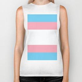 Transgender Pride Biker Tank