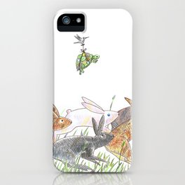 Defeating the fable iPhone Case