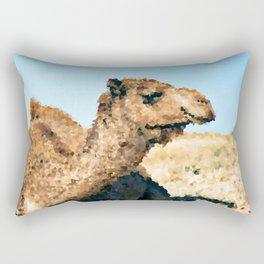 Poly Animals - Camel Rectangular Pillow