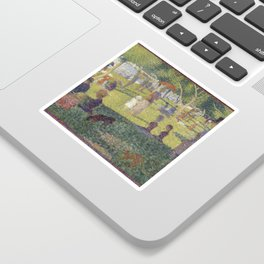 Georges Seurat's A Sunday Afternoon on the Island of La Grande Jatte Sticker