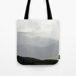 Rannoch Moor - mists and mountains Tote Bag