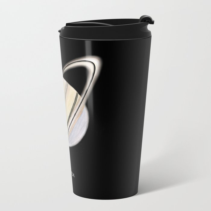 Saturn #2 Metal Travel Mug