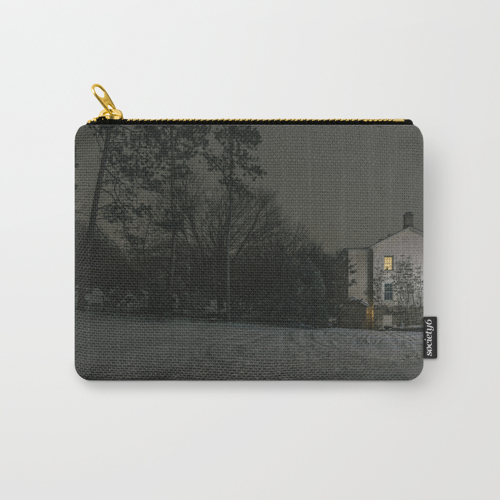 The House By The Cemetery Carry-all Pouch by Peterbaker CAP967316
