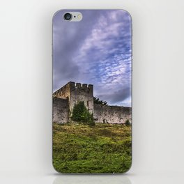 Chepstow Castle Walls iPhone Skin