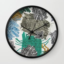 Carbonation Collection: beach Wall Clock