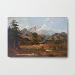 View of Pike's Peak Metal Print