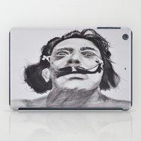 salvador dali iPad Cases featuring Salvador Dali by Blasto17