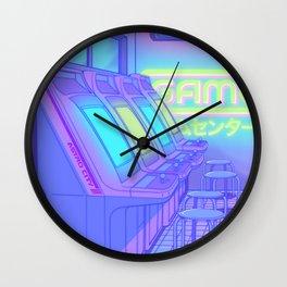 Midnight Arcade Wall Clock