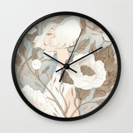 Camouflaged Wall Clock