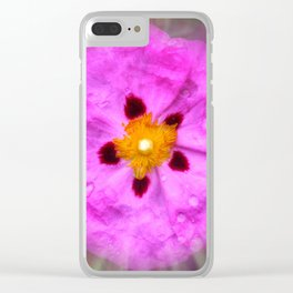 Colors In Bloom 033 Clear iPhone Case