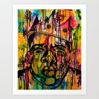 notorious Art Prints featuring Notorious  by Lauren Mair