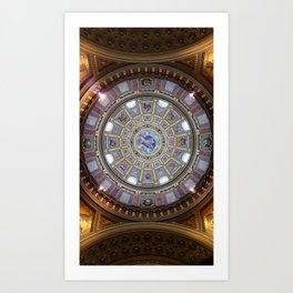St. Stephen's Basilica, Budapest Art Print