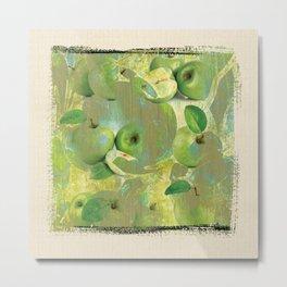 Fine Art of The Sense of Green Life! Metal Print
