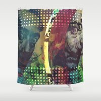dali Shower Curtains featuring dali man by Will Baten