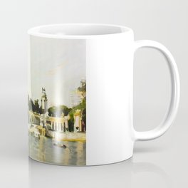 The Lake at Buen Retiro Park Coffee Mug