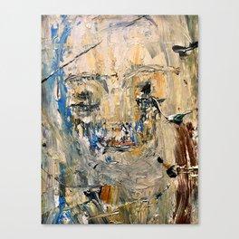 """Modena"" 16 x 20 acrylic, balsamic vinegar on canvas Canvas Print"