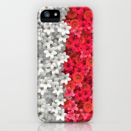 Boundary Flowers iPhone Case