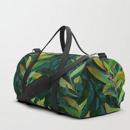 Pond Seaweed Pattern by Robert Phelps Duffle Bag