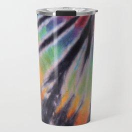 70s Spiral Pattern - Pride Travel Mug