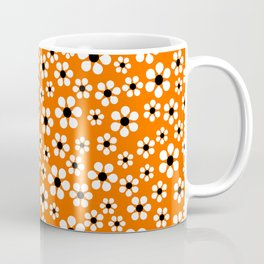 Dizzy Daisies - Orange Coffee Mug