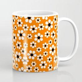 Dizzy Daisies - Orange Coffee Mug