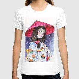 Rain Mood. Calm me down. T-shirt