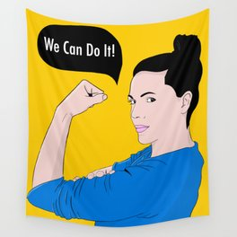 We Can Do It! Wall Tapestry