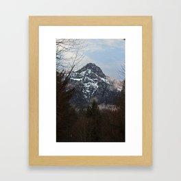 Valley of Ice Framed Art Print