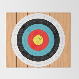 Shooting Target Throw Blanket