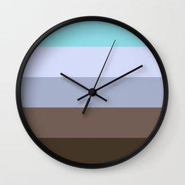 Approaching Nightfall Wall Clock
