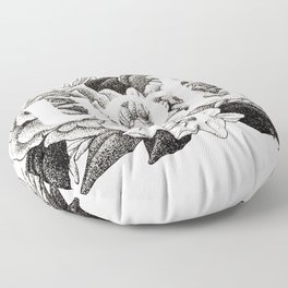 Ugh Floral Floor Pillow