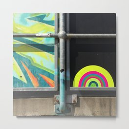 portals of hope skate park australia Metal Print