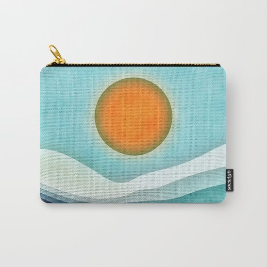 Sunshine Over Blue Mountains Carry-All Pouch