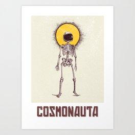 Cosmonauta Art Print