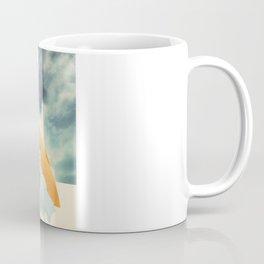 Arctic Fox Stumbles Upon A Meteorite Coffee Mug